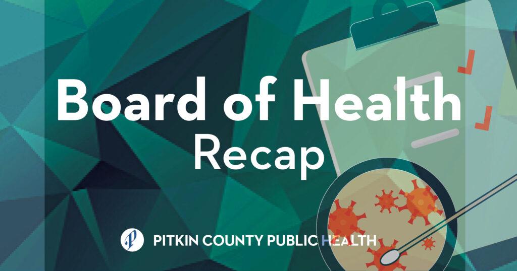 board of health flyer