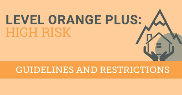 Level Orange Plus high risk