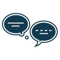 submit a business question icon