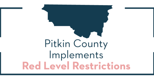 pitkin county implements red level restrictions