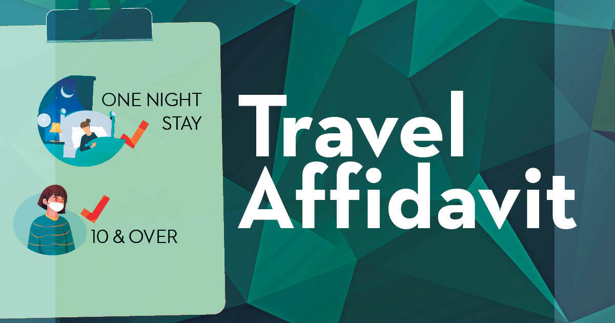 travel affidavit