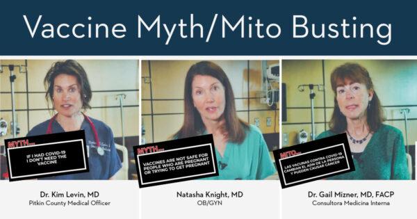 Rompiendo mitos de la vacuna demostrado por expertos médicos locales