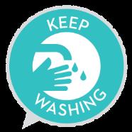 keep washing