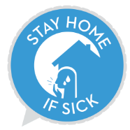stay at home if sick