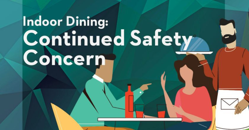 Indoor dining-continued safety concern