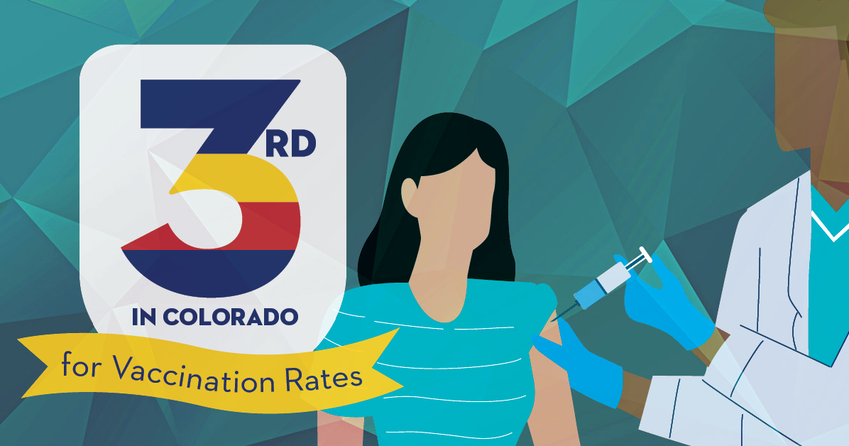 Pitkin third in Colorado for vax rate