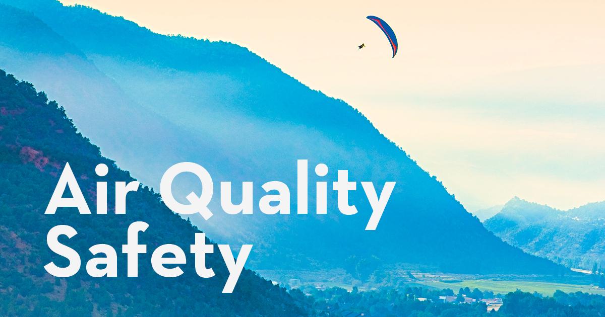 Chequeo de calidad del aire