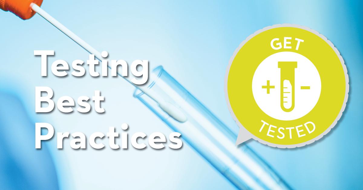 Testing Best Practice blog