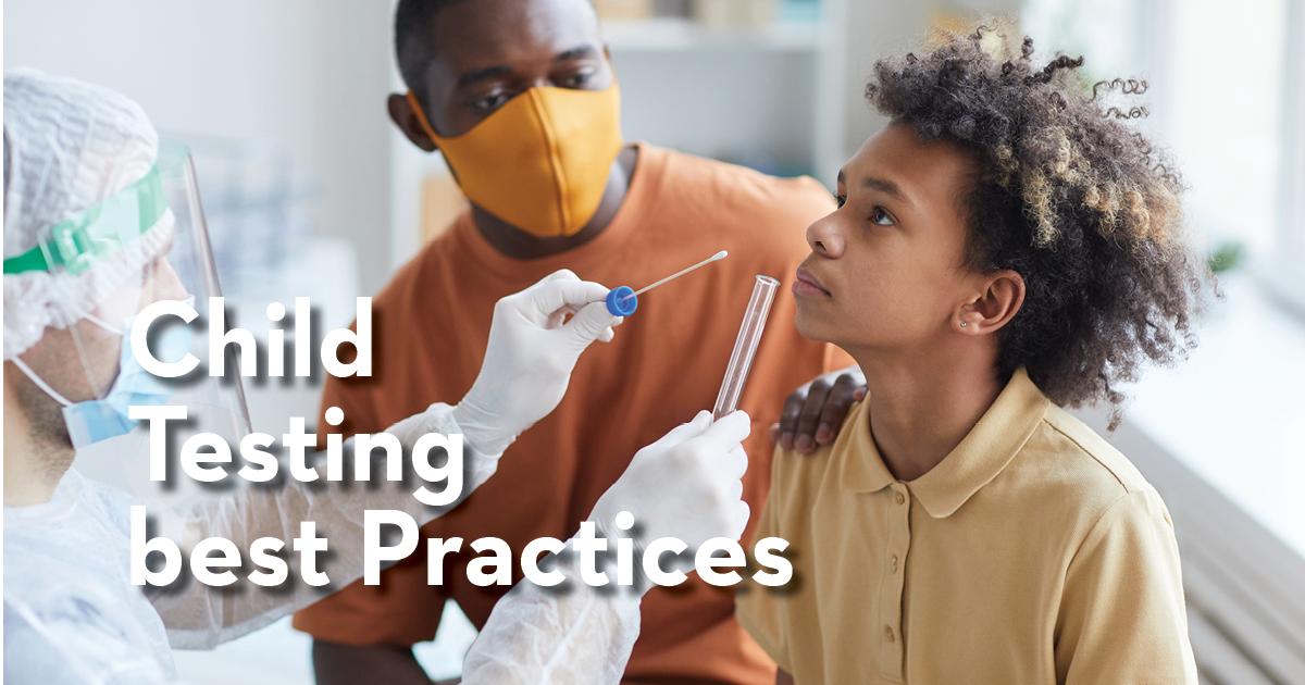 Blog de prácticas recomendadas de pruebas infantiles