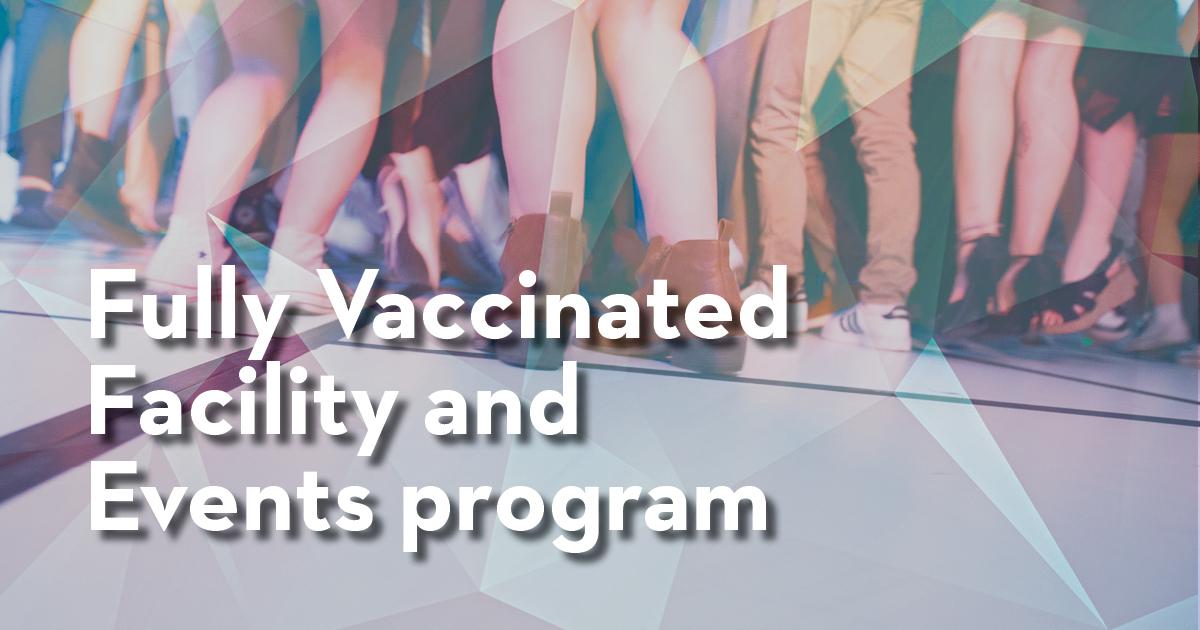 programa de instalaciones completamente vacunadas